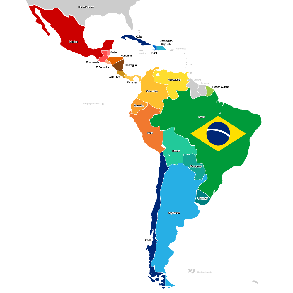racial background of latin america Latin america is a mosaic of diverse cultures, shaped by different geographical, historical, societal, political and economical conditions researchers have identified variation in values, beliefs and behaviors across the region depending on their national culture.